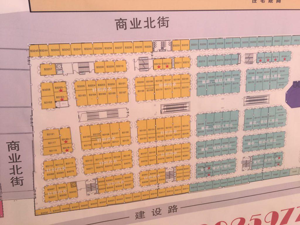 楚水购物中心平米图